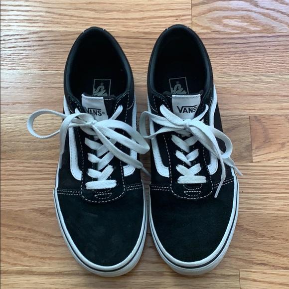 Vans Shoes | Girls Black Size 55 | Poshmark